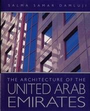 Cover of: The Architecture of the United Arab Emirates