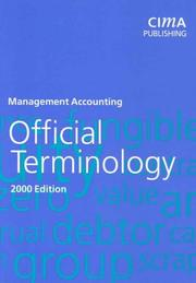 Cover of: Official Terminology 2000 Edition, First Edition