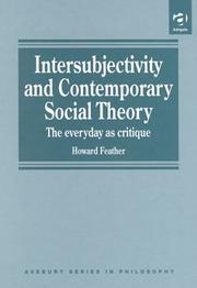 Cover of: Intersubjectivity and contemporary social theory