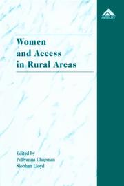 Cover of: Women and Access in Rural Areas: What Makes the Difference?  |