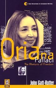 Cover of: Oriana Fallaci