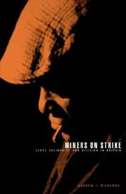 Cover of: Miners on Strike
