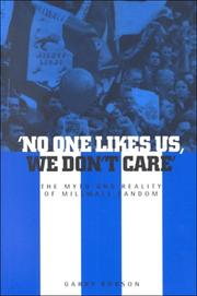 Cover of: 'No One Likes Us, We Don't Care'