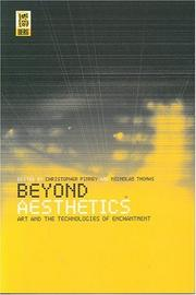 Cover of: Beyond aesthetics