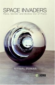 Cover of: Space invaders | Nirmal Puwar