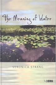 Cover of: The meaning of water