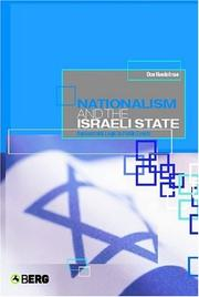 Nationalism and the Israeli State by Don Handelman