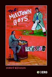 Cover of: The Milltown Boys Revisited | Howard Williamson