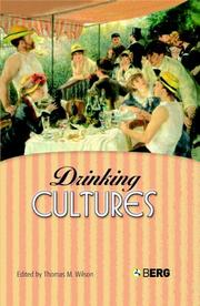 Cover of: Drinking Cultures