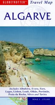 Cover of: Algarve Travel Map
