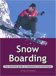 Cover of: Snowboarding (Adventure Sports) | Greg Goldman