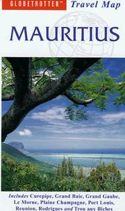 Cover of: Mauritius Travel Map | Globetrotter