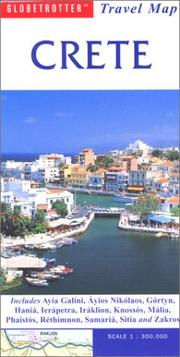 Cover of: Crete Travel Map