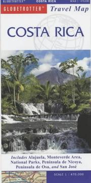 Cover of: Costa Rica Travel Map