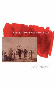 Cover of: Reflections on Violence