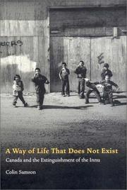 Cover of: way of life that does not exist | Colin Samson