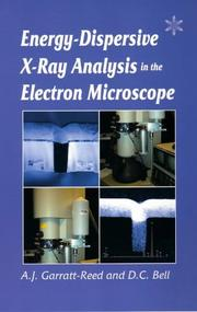 Cover of: Energy Dispersive X-ray Analysis in the Electron Microscope