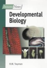 Cover of: Instant Notes in Developmental Biology (Instant Notes)