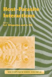Cover of: Host-Parasite Interactions (Experimental Biology Reviews)