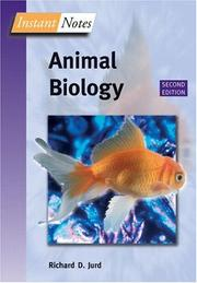 Cover of: Instant Notes in Animal Biology (Bsolete Notes Series.                                                      N01/15/04)