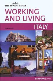 Cover of: Working and Living