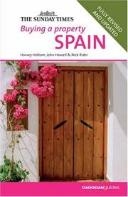 Cover of: Buying a Property Spain, 2nd (Buying a Property - Cadogan) | Nick Rider