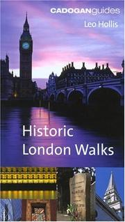 Cover of: Cadogan Book of Historic London Walks (Cadogan Guide)
