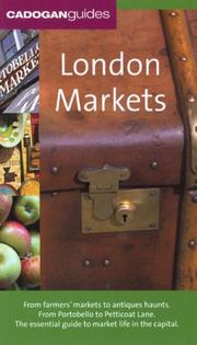 Cover of: London Markets, 4th (Country & Regional Guides - Cadogan)