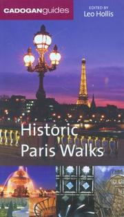 Cover of: Historic Paris Walks (Codogan Guides: Historic Walks S.)