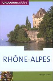 Cover of: Rhone Alpes, 2nd (Country & Regional Guides - Cadogan)