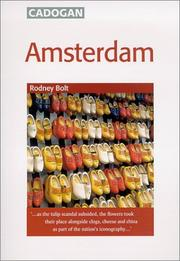 Cover of: Amsterdam (Cadogan Guides) | Rodney Bolt