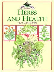 Cover of: Herbs and Health