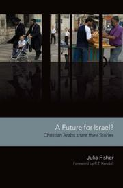 Cover of: A Future for Israel?