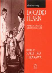 Cover of: Rediscovering Lafcadio Hearn
