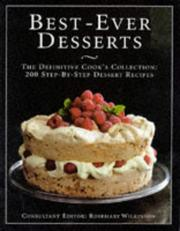 Cover of: Best Ever Desserts