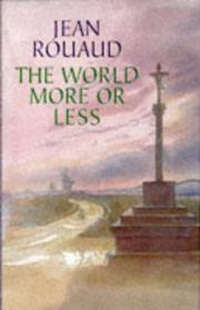 Cover of: World More Or Less Hb