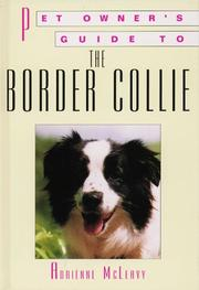 Cover of: BORDER COLLIE (Pet Owner's Guide)