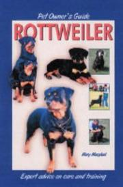 Cover of: Pet Owner's Guide to the Rottweiler (Pet Owners Guide)