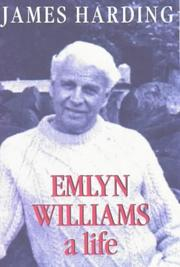 Cover of: Emlyn Williams