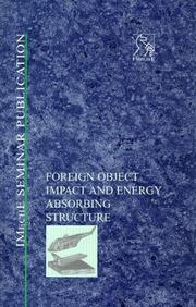 Cover of: Foreign Object Impact and Energy Absorbing Structure (Tolley's Pensions Service)
