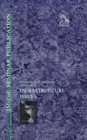 Cover of: Infrastructure issues
