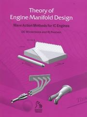 Theory of engine manifold design by D. E. Winterbone