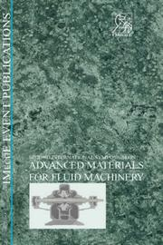 Cover of: Advanced Materials for Fluid Machinery (Imeche Event Publications)