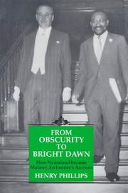 Cover of: From Obscurity To Bright Dawn