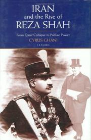 Cover of: Iran and the Rise of the Reza Shah