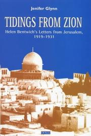 Cover of: Tidings From Zion