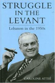 Cover of: Lebanon in the 1950s