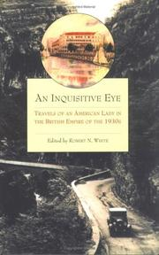 Cover of: An Inquisitive Eye