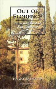 Cover of: Out of Florence