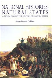 Cover of: National Histories, Natural States